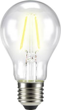 LED žárovka Sygonix STA6007 230 V, E27, 4 W = 40 W, teplá bílá, A++, vlákno, 1 ks