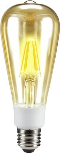 Sygonix LED E27 Kolbenform 7 W = 60 W Warmweiß (Ø x L) 64 mm x 164 mm EEK: A++ Filament, dimmbar 1 St.