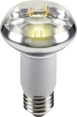 LED žárovka Sygonix STR6034 230 V, E27, 5 W = 47 W, teplá bílá, A, reflektor, vlákno, 1 ks