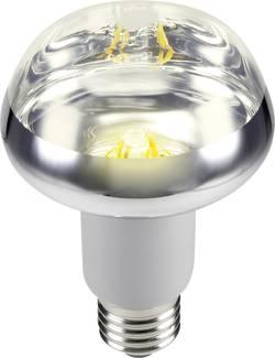 LED žárovka Sygonix STR8025 230 V, E27, 5.5 W = 42 W, teplá bílá, A, reflektor, vlákno, 1 ks