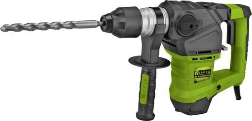 Zipper ZI-BHA1500D SDS-Plus-Bohrhammer 1500 W inkl. Zubehör, inkl. Koffer