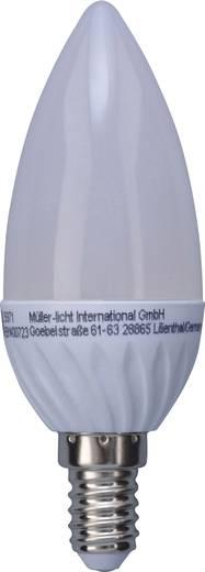 Müller Licht LED EEK A+ (A++ - E) E14 Kerzenform 3 W = 25 W Warmweiß (Ø x L) 38 mm x 108 mm 2 St.