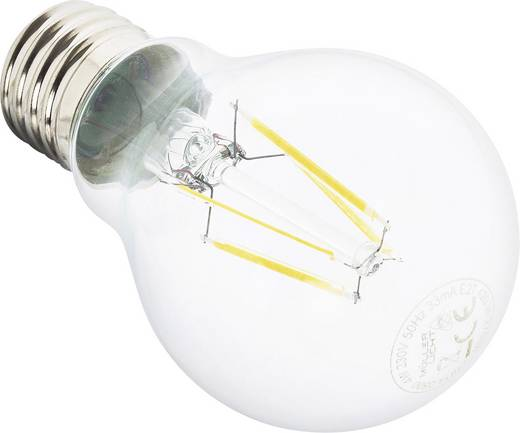 Müller Licht LED E27 Glühlampenform 6 W = 51 W Warmweiß (Ø x L) 60 mm x 106 mm EEK: A++ Filament 1 St.