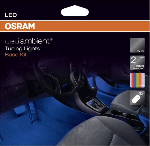Ambientebeleuchtung LEDambient Tuning Lights Basis-Kit OSRAM