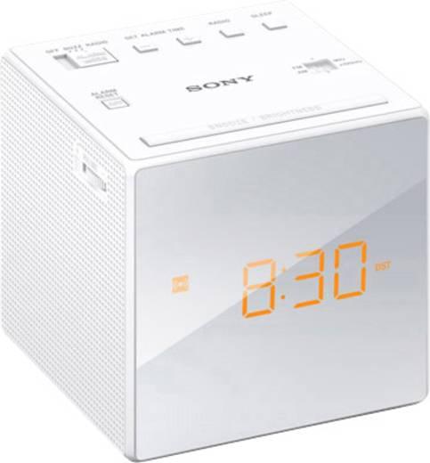 UKW Radiowecker Sony ICF-C1 MW, UKW Weiß