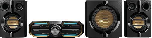 Philips FX55 Stereoanlage AUX, Bluetooth®, CD, NFC, USB, UKW, 720 W Schwarz