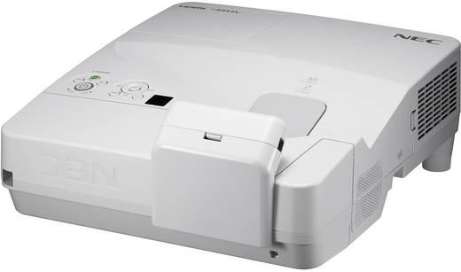 LCD Beamer NEC UM301Wi Helligkeit: 3000 lm 1280 x 800 WXGA 4000 : 1 Silber