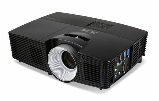 DLP Beamer Acer P1387W Helligkeit: 4500 lm 1280 x 800 WXGA 17000 : 1 Schwarz