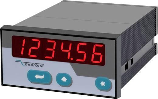 Motrona DX346 Impuls, Zeit und Frequenzzähler Serie DX mit zusätzlichem Analogausgang, Einbaumaße 141 x 96 x 48 mm m