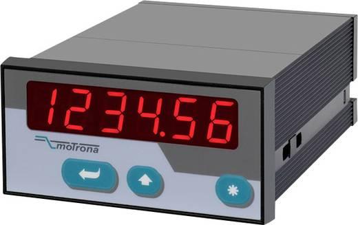 Motrona AX346 Prozessanzeige mit 2 Analogeingängen Serie AX mit zusätzlichem Analogausgang Einbaumaße 141 x 96 x 48 m