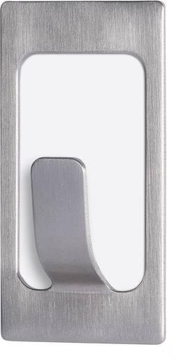 tesa powerstrips haken small rechteck edelstahl geb rstet 57997 00 02 tesa inhalt 1 pckg kaufen. Black Bedroom Furniture Sets. Home Design Ideas