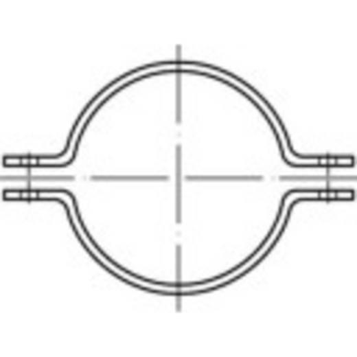 TOOLCRAFT Rohrschellen DIN 3567 Stahl feuerverzinkt 1 St.