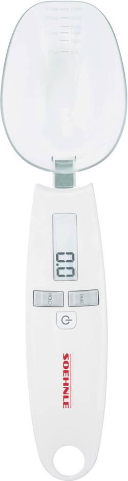 Lžícová váha Soehnle Max. váživost 500 g Rozlišení 0.1 g na baterii bílá