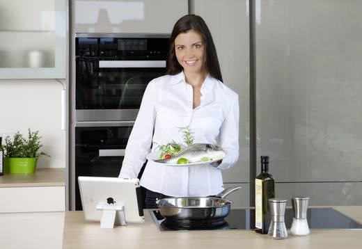 Cuciniale GourmetSensor® Premium Edition Kochnavi Weiß, Weinrot