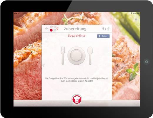 Cuciniale GourmetSensor® Starter Edition Kochnavi Weiß, Weinrot