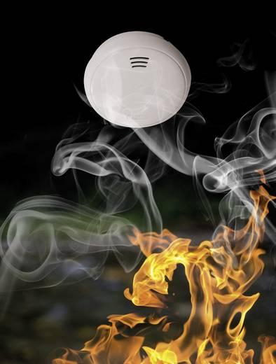 ABUS GRWM30500 Rauchwarnmelder inkl. 10 Jahres-Batterie batteriebetrieben