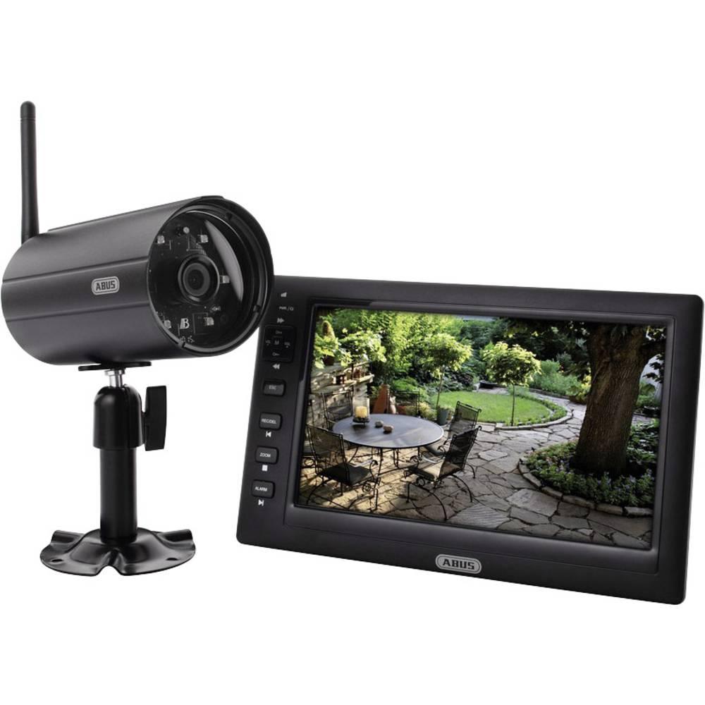 Kit videosorveglianza senza fili 4 canali con 1 camera 640 for Kit da garage a 4 canali