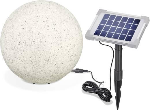 Esotec Solar-Dekoleuchte Mega Stone 30 106020 Stein LED RGB Grau