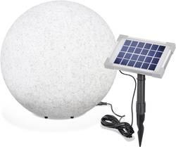 LED solární dekorativní osvětlení – kámen Esotec Mega Stone 40, IP65, šedá