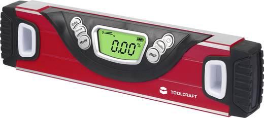 Digitale Wasserwaage 25 cm 180 ° TOOLCRAFT 1377557 0.5 mm/m Kalibriert nach: Werksstandard