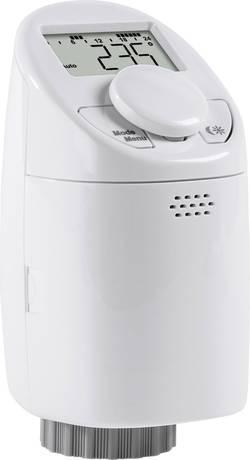 Programovatelná termostatická hlavice eqiva CC-RT-M, 5 až 29.5 °C, otočený displej