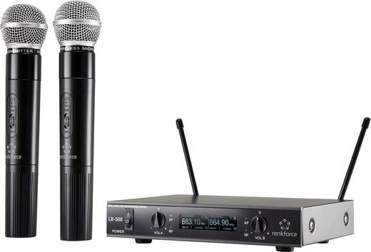 Funkmikrofon-Set Renkforce LB-508 Übertragungsart:Funk
