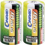 Mono (D)-Akku NiMH Conrad energy Endurance HR20 9500 mAh 1.2 V 2 St.