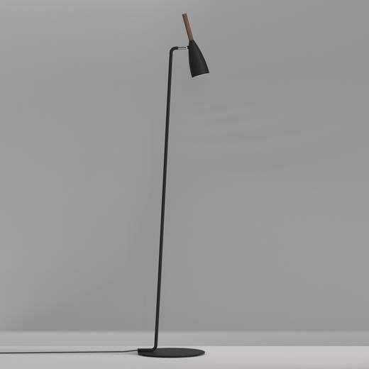 Stehlampe LED GU10 8 W Nordlux Pure 78294003 Schwarz
