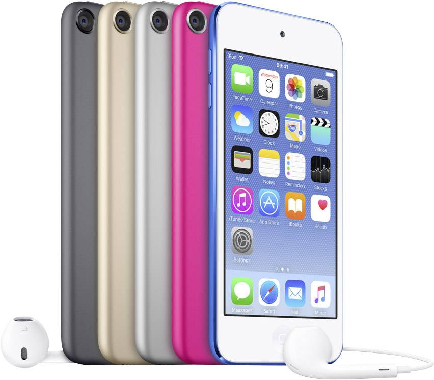 iPod Touch in fünf Faben erhältlich
