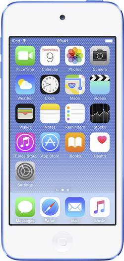 Image of Apple iPod touch 128 GB Blau