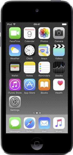 Image of Apple iPod touch 128 GB Spacegrau