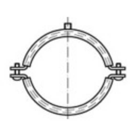 TOOLCRAFT Schraubrohrschellen DIN 4109 53 mm Stahl galvanisch verzinkt 50 St.