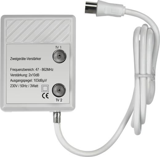 Renkforce TVS 8-08 Kabel-TV Verstärker 2-fach 20 dB