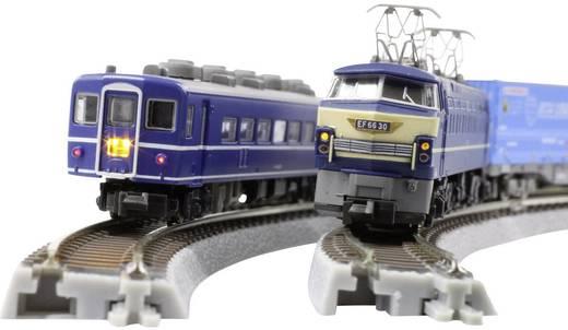 Z Rokuhan Gleis (mit Bettung) 7297076 Gebogenes Gleis, überhöht 30 ° 270 mm