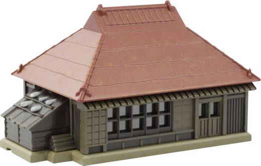 Rokuhan 7297201 Z Bauernhaus mit roten Metalldach