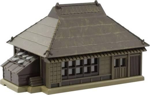 Rokuhan 7297203 Z Haus mit braunen Metalldach