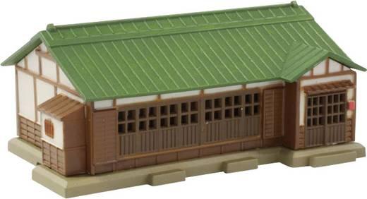 Rokuhan 7297207 Z Haus mit grünen Metalldach