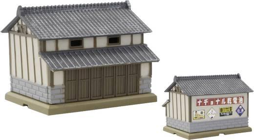 Rokuhan 7297208 Z Scheune mit grauen Ziegeldach
