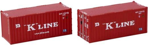 Rokuhan 7297548 Z 2er-Set 20´ Container K-Line
