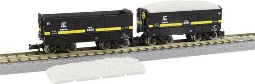 Rokuhan 7297712 Z 2er-Set Tender + Kalksteinbruchwagen JNR-Serie SEKI 6000 HIRO