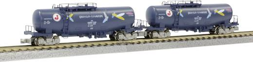 "Rokuhan 7297735 Z 2er-Set Kesselwagen TAKI-1000 Japan Oil Terminal ""Color with Yabane"""