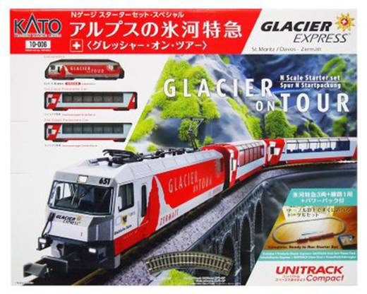 KATO 7074033 N Start-Set Glacier on Tour