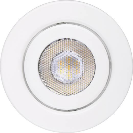 TLT International Opia LT1145030 LED-Einbauleuchte 3er Set 12 W Warm-Weiß Weiß