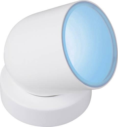 LED-Dekoleuchte LED 8.5 W RGB JEDI Lighting Tulp Medium JE720109 Weiß, Nickel (gebürstet)