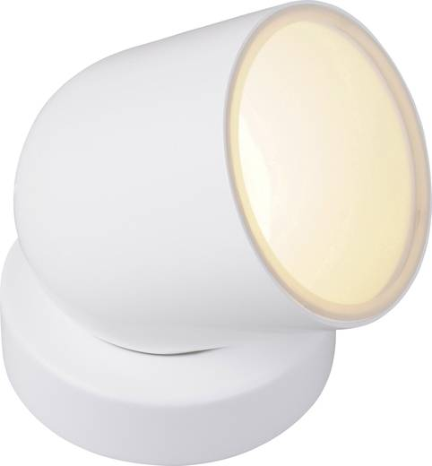 LED-Dekoleuchte LED 8.5 W RGB JEDI Lighting Tulp Medium JE720109 Weiß, Nickel (gebürstet)