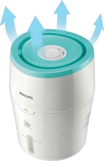 Philips Luftbefeuchter 25 m² HU4801/01 Weiß, Hellgrün