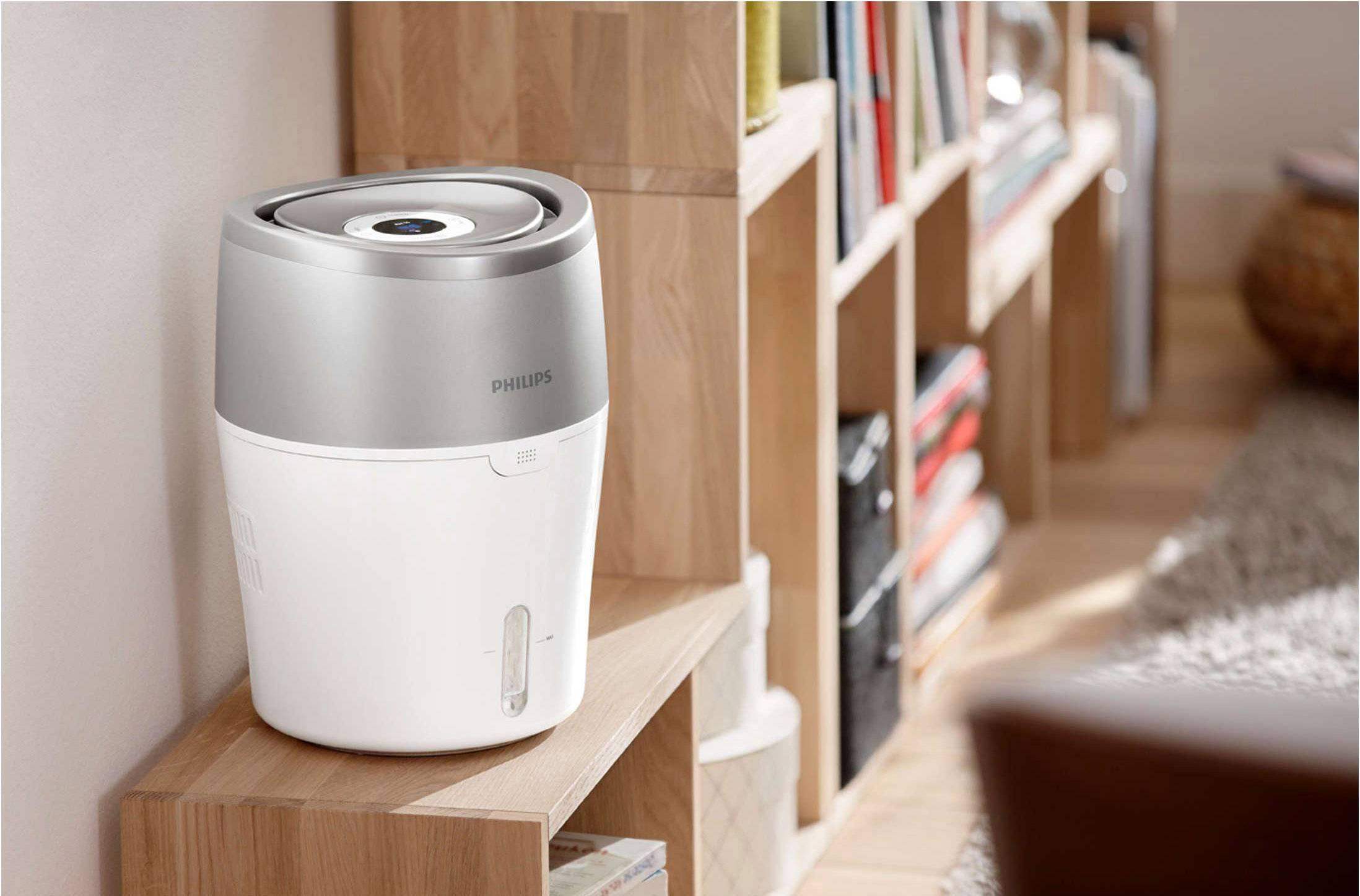 Philips Luftbefeuchter 25 M² HU4803/01 Weiß, Grau