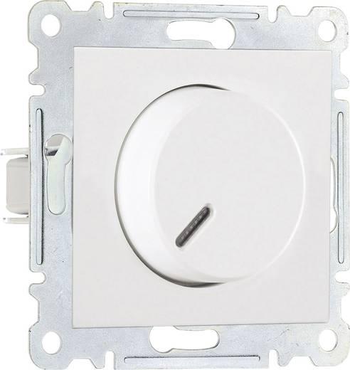 Makel Dimmer 60 - 600 W für elektronische Trafos Karea weiß 57001011