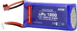 Akupack Li-Pol (modelářství) ACME ZQ0600-B, 7.4 V, 1200 mAh