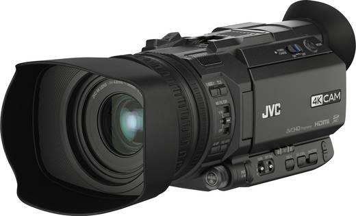 JVC GY-HM170E Camcorder 8.9 cm 3.5 Zoll 12.4 Mio. Pixel Opt. Zoom: 12 x Schwarz